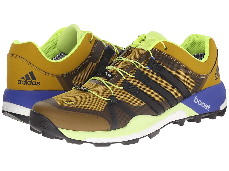 adidas Outdoor - Terrex Boost GTX (Raw Ochre/Black/Solar Yellow) Men's Shoes
