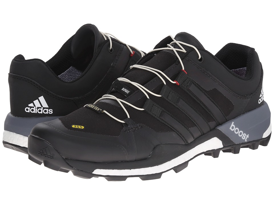 adidas Outdoor - Terrex Boost GTX (Black/White/Vista Grey) Men's Shoes
