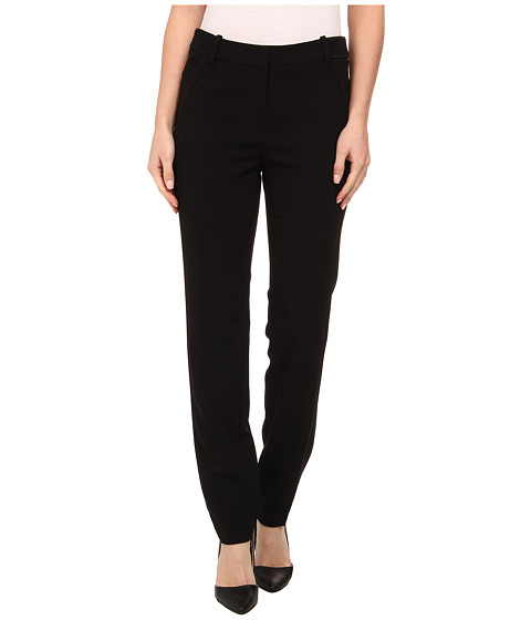 Adrianna Papell - Kate Fit Pants w/ Elastic Detail (Black) Women's Casual Pants