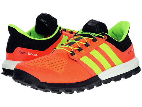 adidas Outdoor - Adistar Raven Boost (Solar Red/Solar Yellow/Raw Ochre) Men's Shoes
