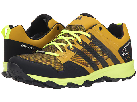 adidas Outdoor - Kanadia 7 Trail GTX (Raw Ochre/Black/Solar Yellow) Men