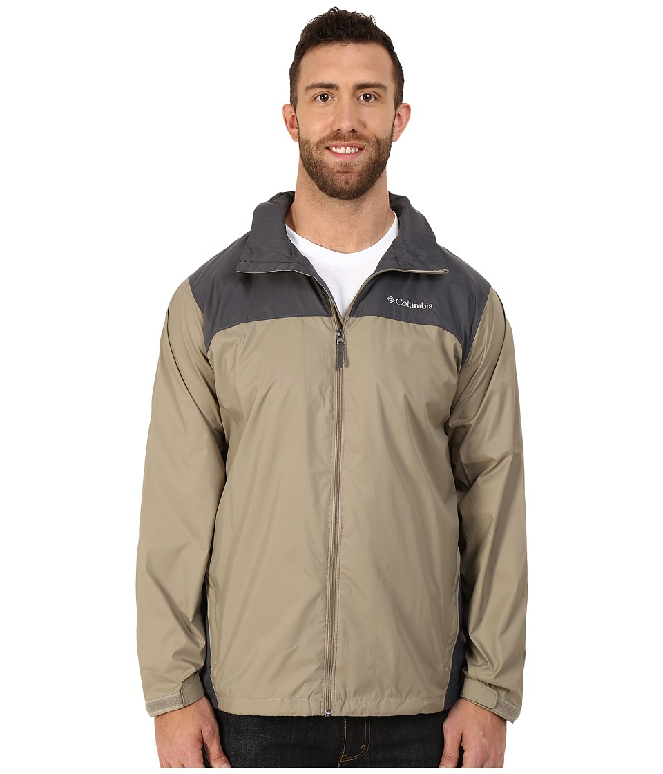 Columbia Big Tall Glennaker Lake Jacket (Tusk/Grill) Men