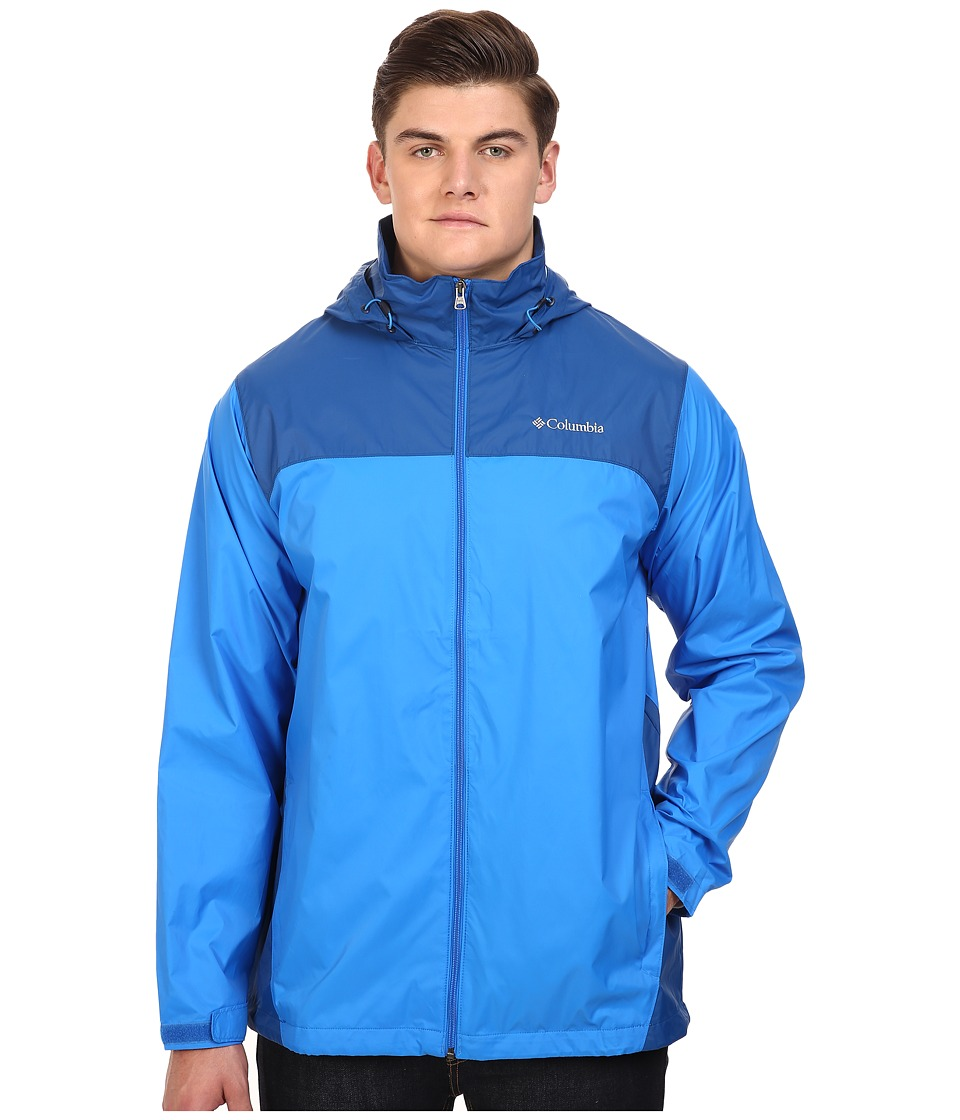 Columbia - Big Tall Glennaker Lake Jacket (Hyper Blue/Marine Blue) Men's Coat