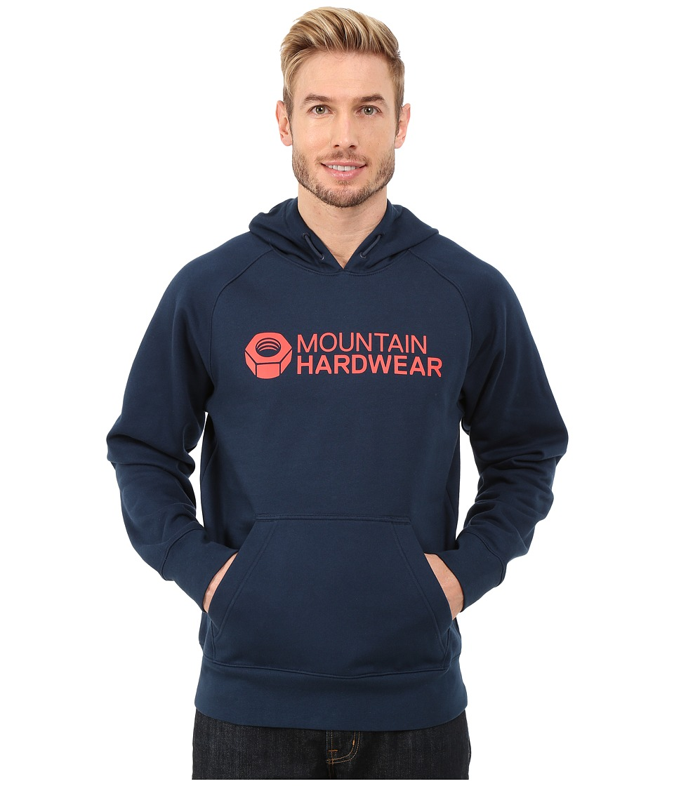 Mountain Hardwear - Logo Graphic Pullover Hoodie (Hardwear Navy) Men's Sweatshirt