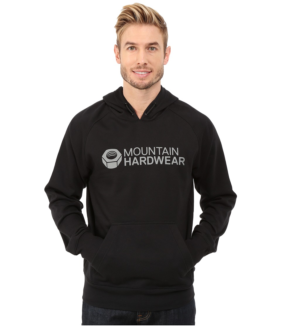 Mountain Hardwear - Logo Graphic Pullover Hoodie (Black) Men's Sweatshirt