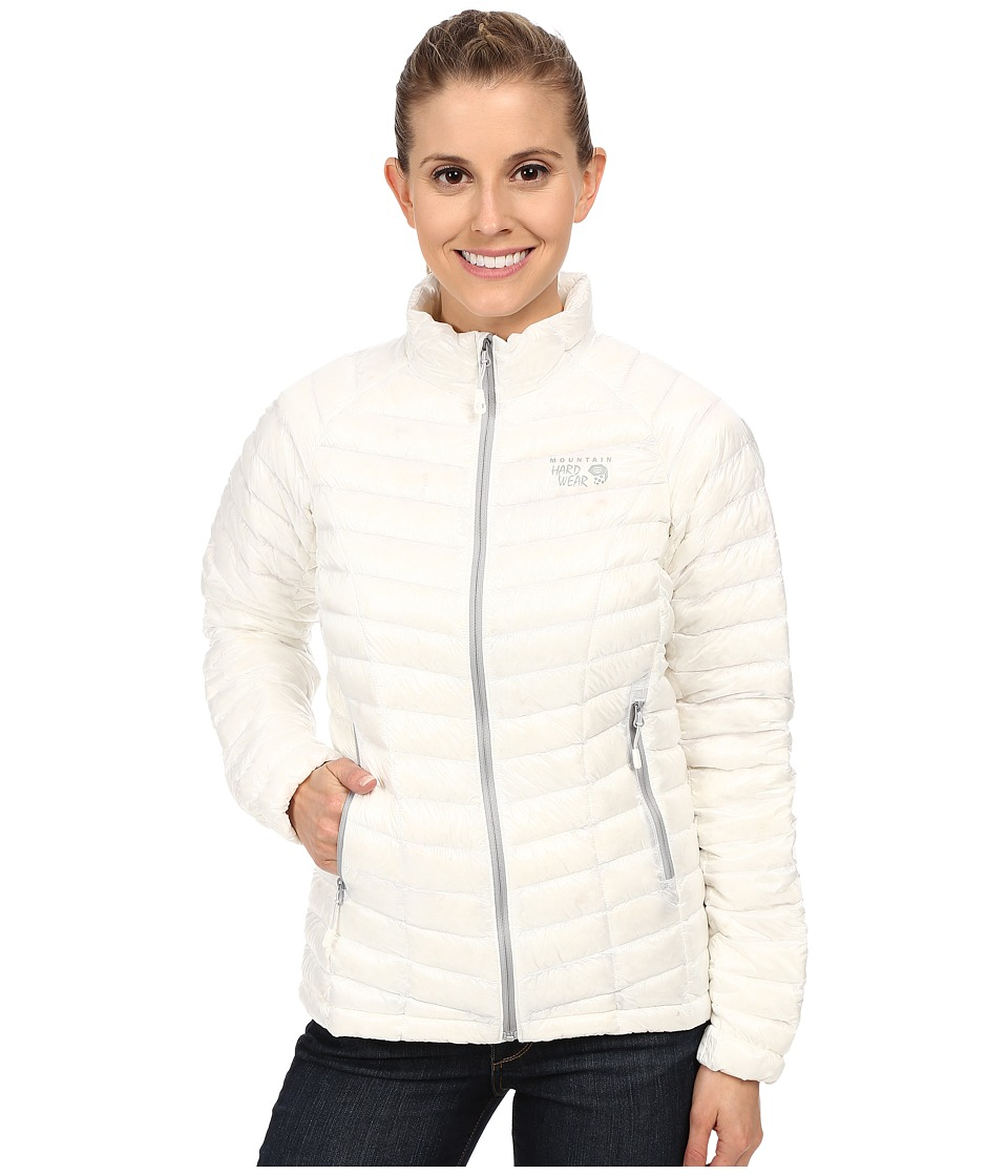 Mountain Hardwear - Ghost Whisperer Down Jacket (White) Women's Coat