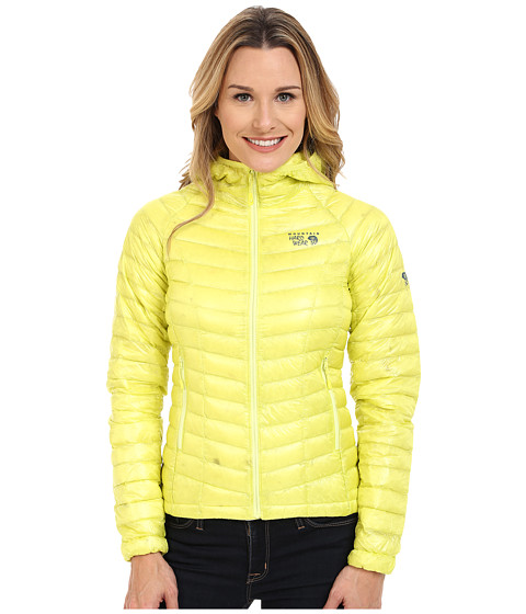 Mountain Hardwear - Ghost Whisperer Down Hooded Jacket (Bolt Mountain) Women