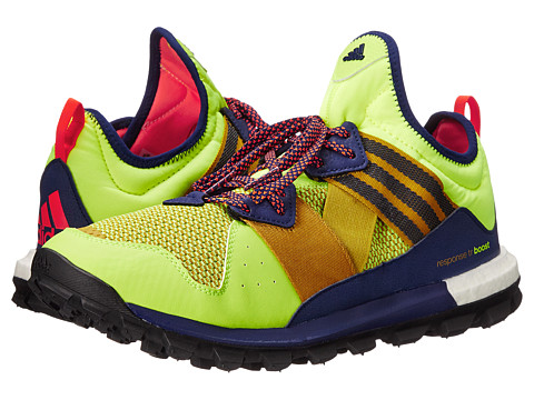 adidas Outdoor - Response Trail Boost (Solar Yellow/Raw Ochre/Solar Red) Men