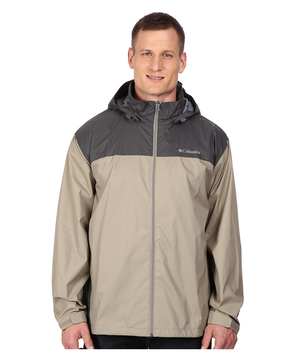 Columbia Big Tall Glennaker Lake Jacket2 (Tusk/Grill) Men