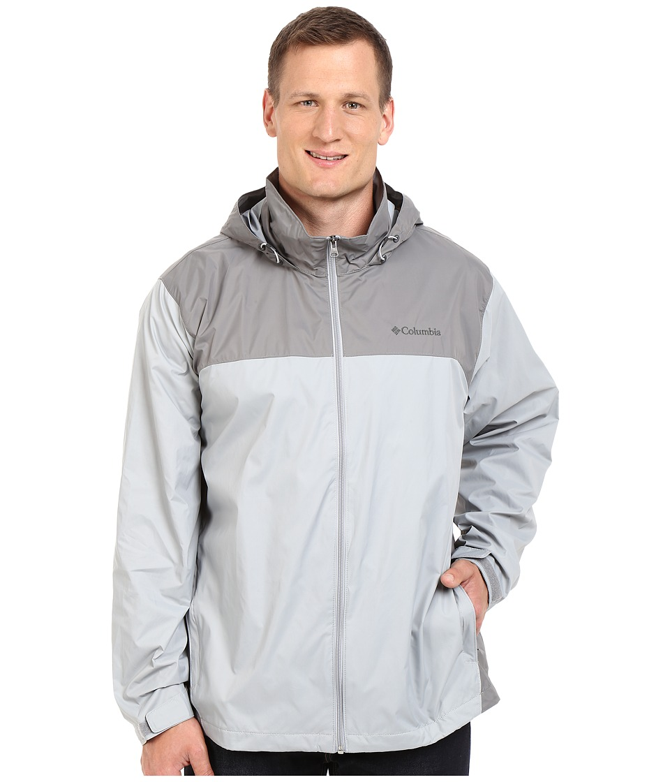Columbia Big Tall Glennaker Laketm Jacket2 (Columbia Grey/Boulder) Men