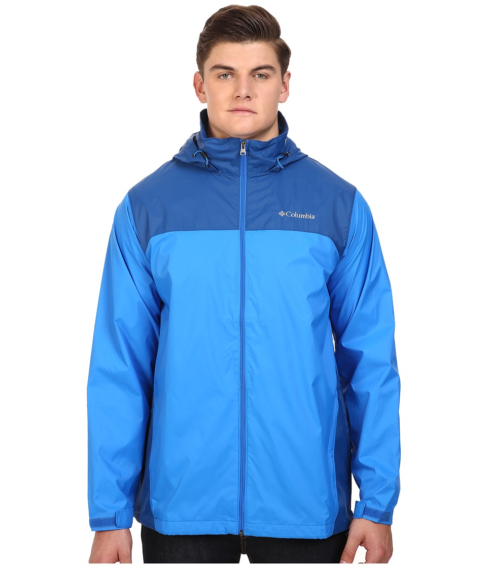 Columbia - Big Tall Glennaker Lake Jacket2 (Hyper Blue/Marine Blue) Men's Coat