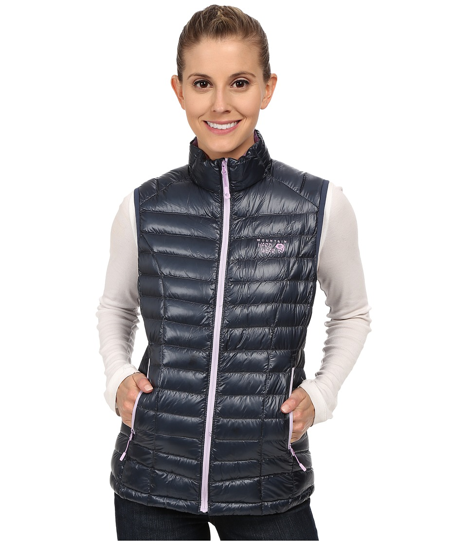 Mountain Hardwear - Ghost Whisperer Down Vest (Zinc/Phantom Purple) Women's Vest