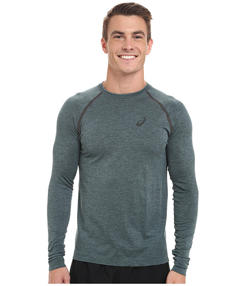 ASICS - Seamless Long Sleeve (Hampton Green) Men's Workout