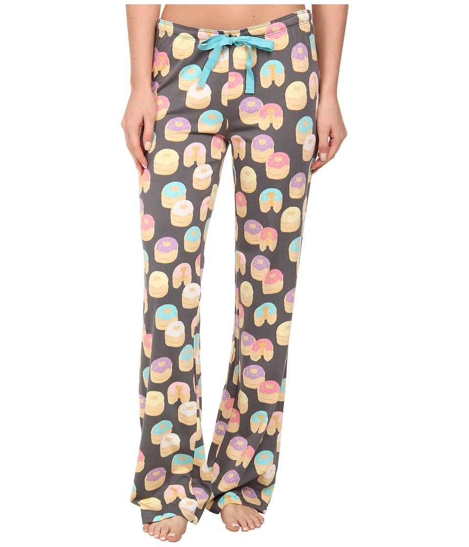 P.J. Salvage - Cronut Print PJ Bottom (Grey) Women's Pajama