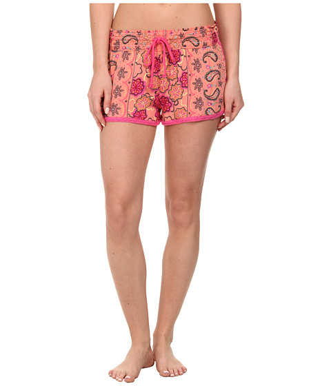 P.J. Salvage - Calle Chic Floral Print Sleep Short (Melon) Women's Pajama
