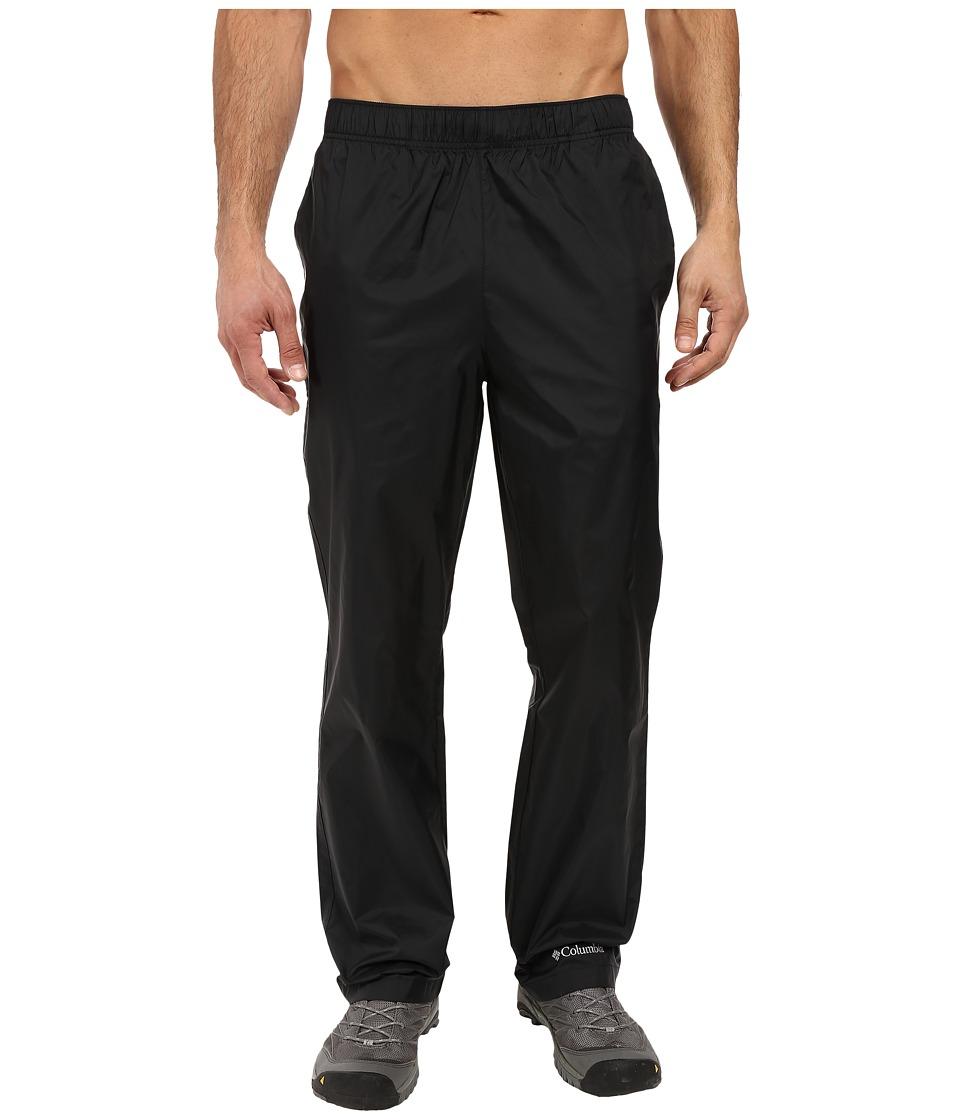 Columbia - Glennaker Lake Rain Pants (Black) Men's Casual Pants
