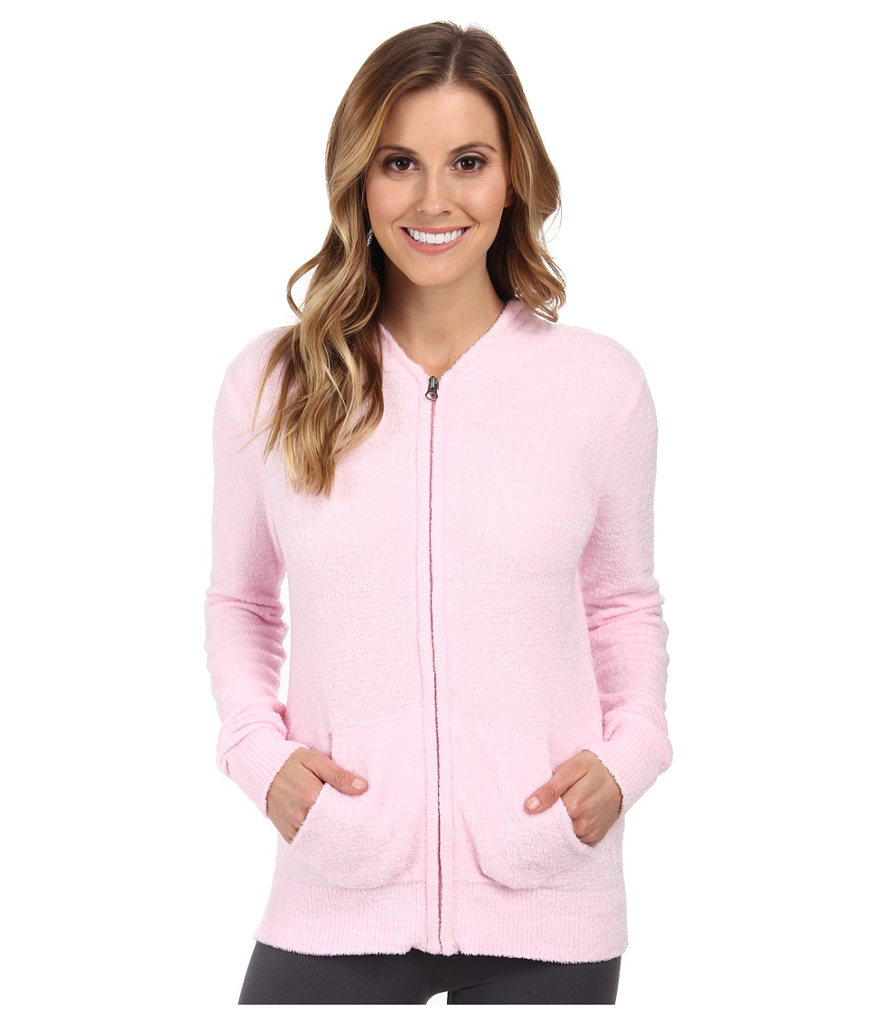 P.J. Salvage - Zip-Up Sleep Hoodie (Pink) Women's Pajama