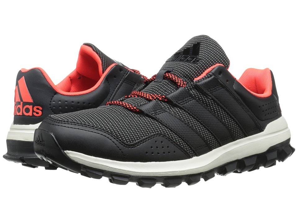 adidas - Slingshot Trail (DGH Solid Grey/Black/Solar Red) Men's Shoes
