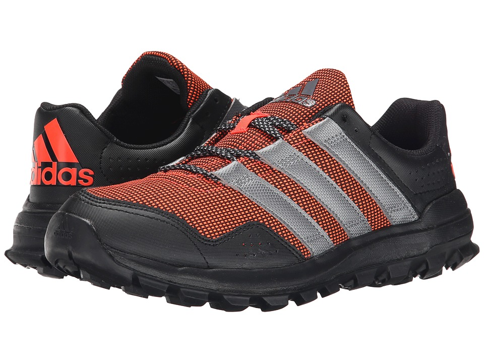 adidas Running - Slingshot Trail (Solar Red/Granite/Black) Men's Shoes