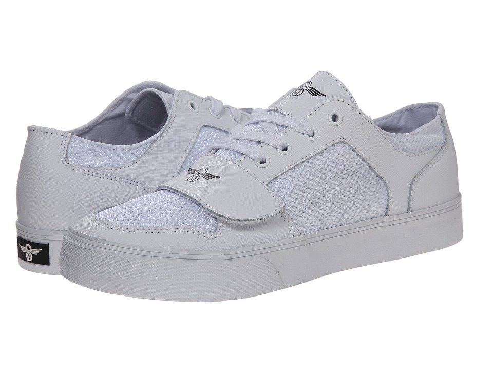Creative Recreation - Cesario Lo XVI (White Woodgrain Mesh) Men's Shoes