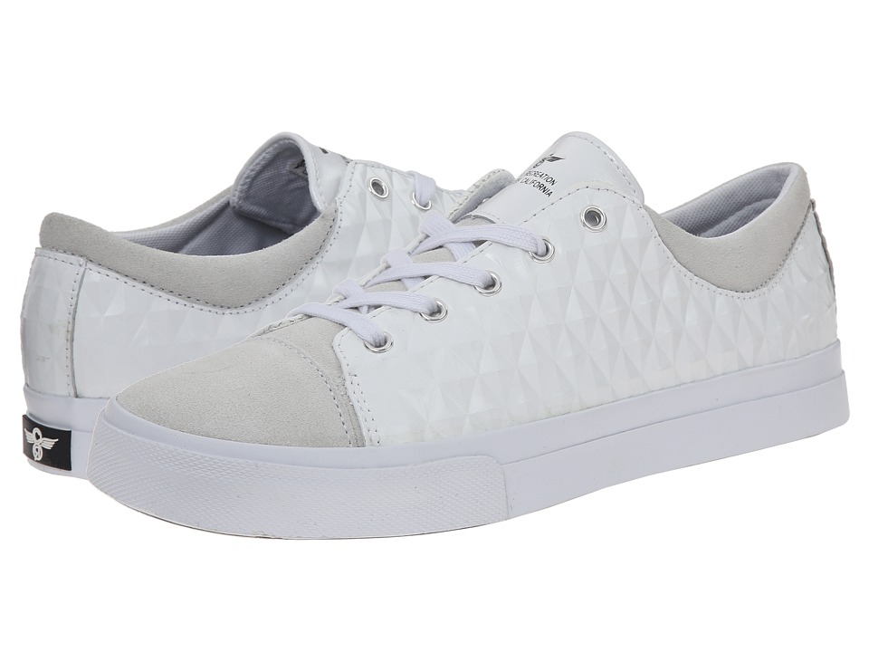 Creative Recreation - Forlano (White Diamonds) Men's Lace up casual Shoes