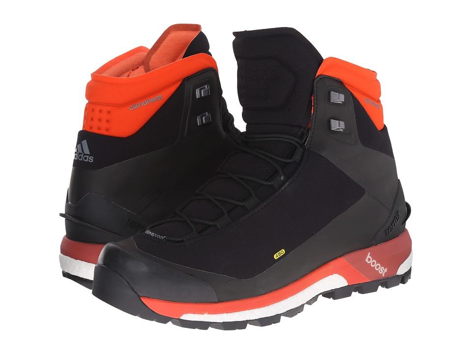 adidas Outdoor - Terrex Ultimate Boost CH (Black/Bold Orange/Tribe Orange) Men's Shoes