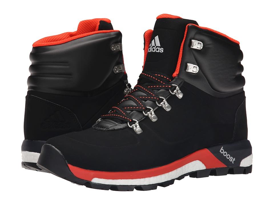 adidas Outdoor - Boost Urban Hiker CW (Black/Bold Orange/Solar Red) Men's Shoes