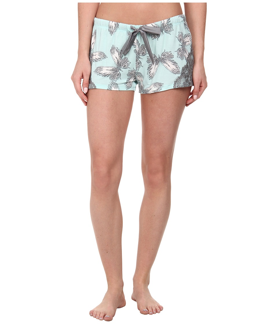 P.J. Salvage - Butterfly Print Sleep Short (Mint) Women