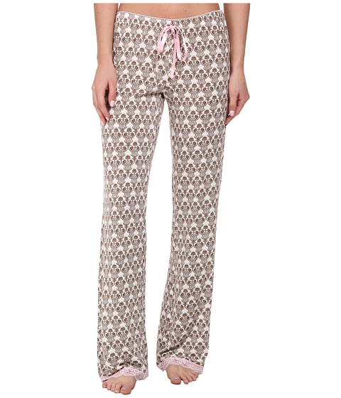 P.J. Salvage - Pink Touch PJ Bottom (Taupe) Women