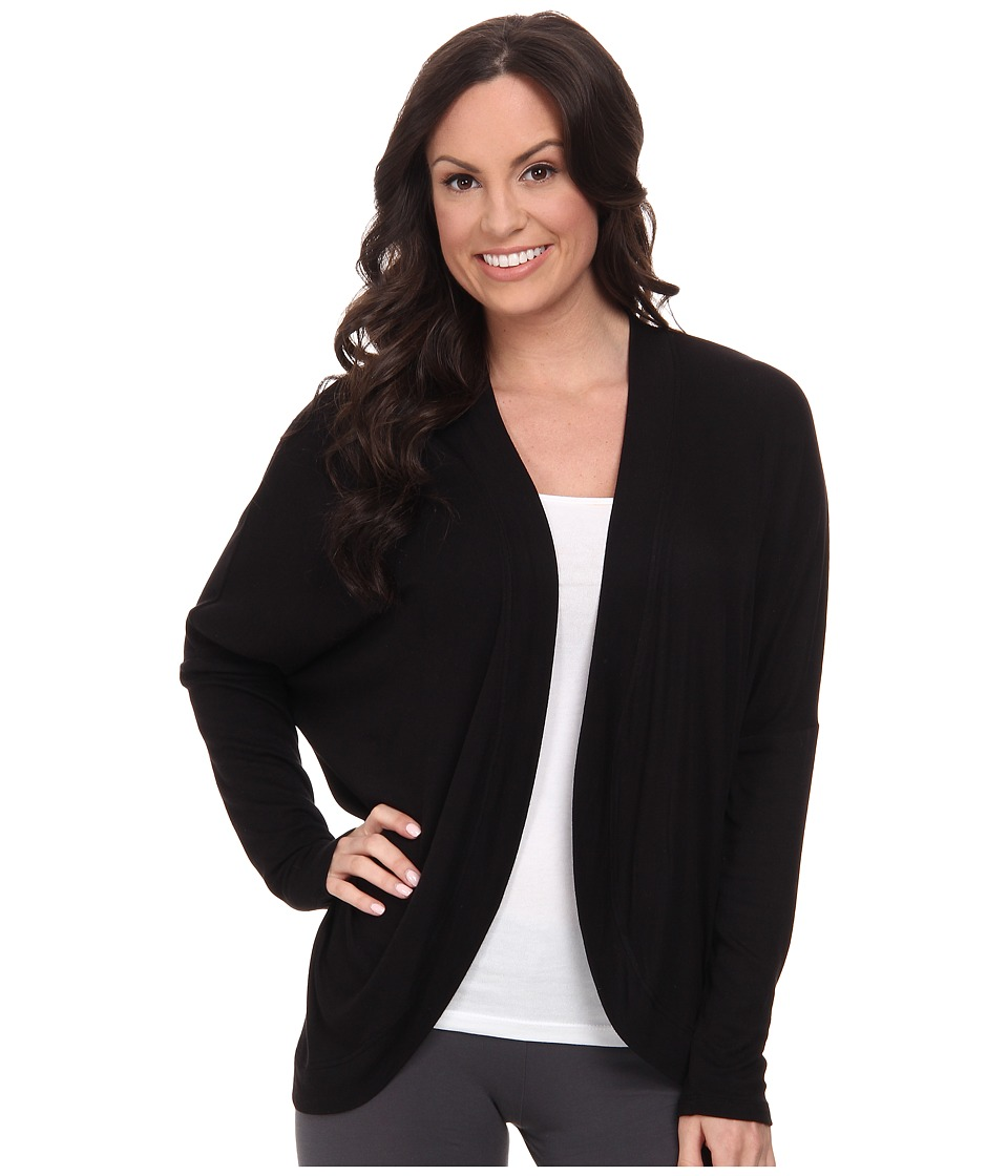 P.J. Salvage - Essential Luxe Rib Sleep Sweater (Black) Women