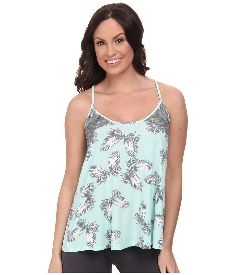 P.J. Salvage - Butterfly Print Sleep Top (Mint) Women's Pajama
