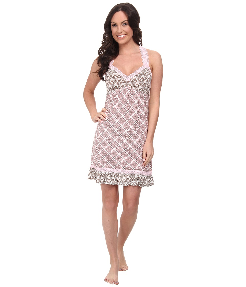 P.J. Salvage - Pink Touch Sleep Chemise (Taupe) Women