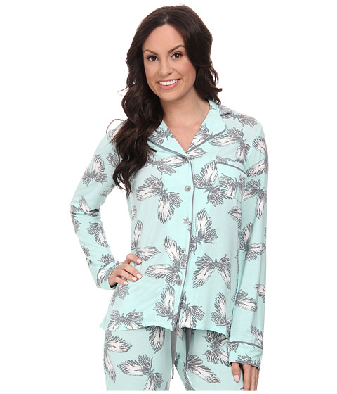 P.J. Salvage - Butterfly PJ Set (Mint) Women's Pajama Sets