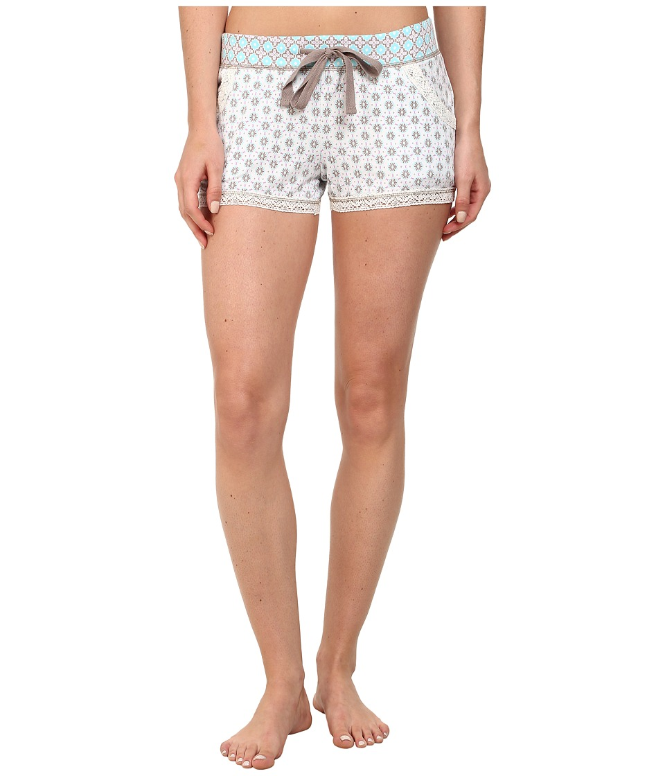 P.J. Salvage - Pattern Mix Sleep Short (Ivory) Women's Pajama