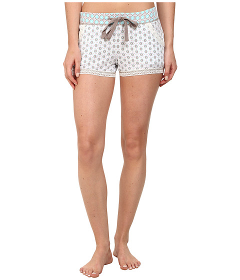 P.J. Salvage - Pattern Mix Sleep Short (Ivory) Women