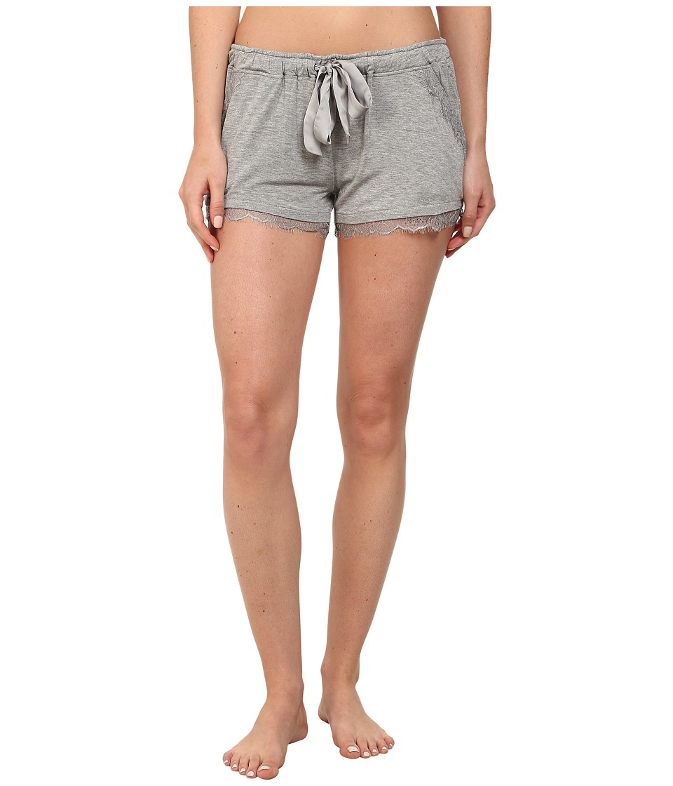 P.J. Salvage - Luxe Lounge Short (Heather Grey) Women