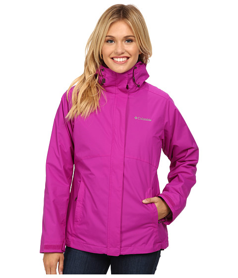 Columbia - Nordic Cold Front Interchange Jacket (Bright Plum) Women