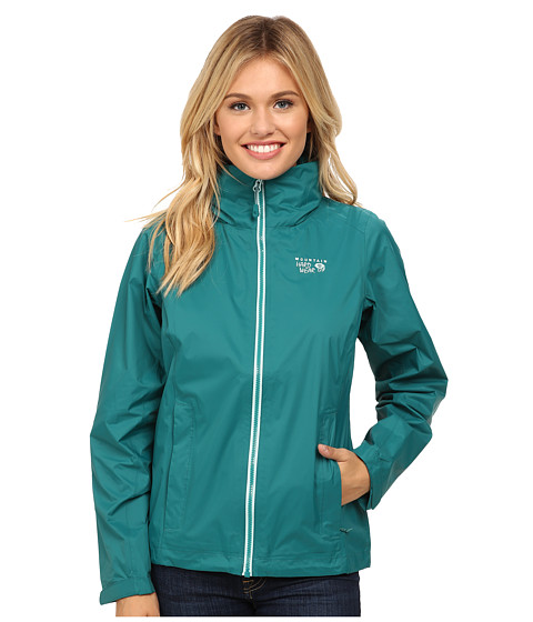 Mountain Hardwear - Plasmic Ion Jacket (Teal Green) Women's Coat