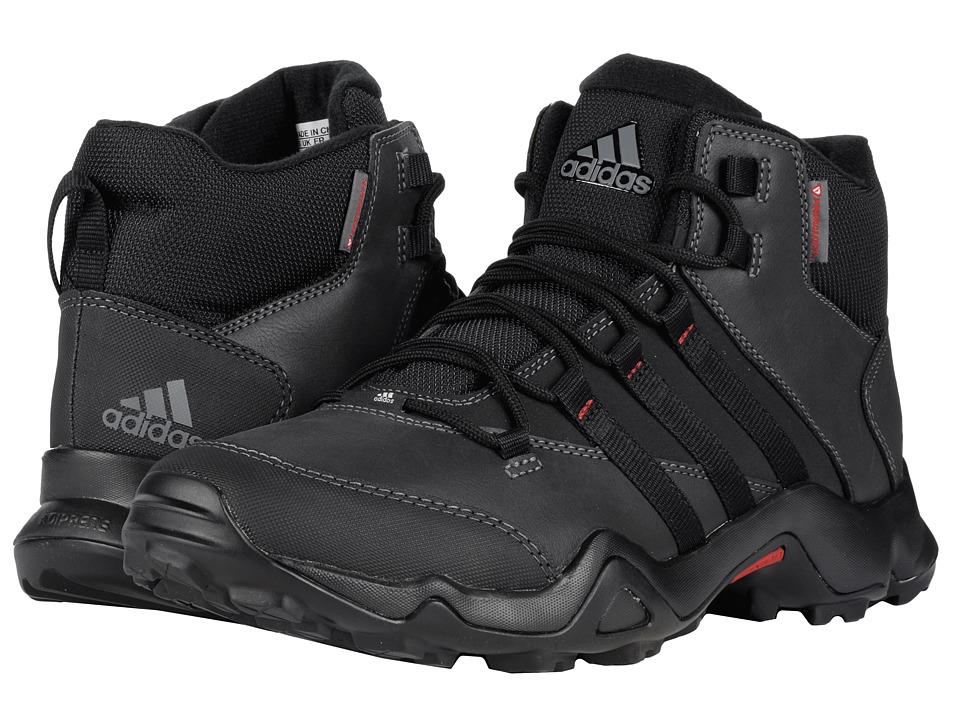 adidas Outdoor - CW AX2 Beta Mid (Black/Vista Grey/Power Red) Men's Shoes