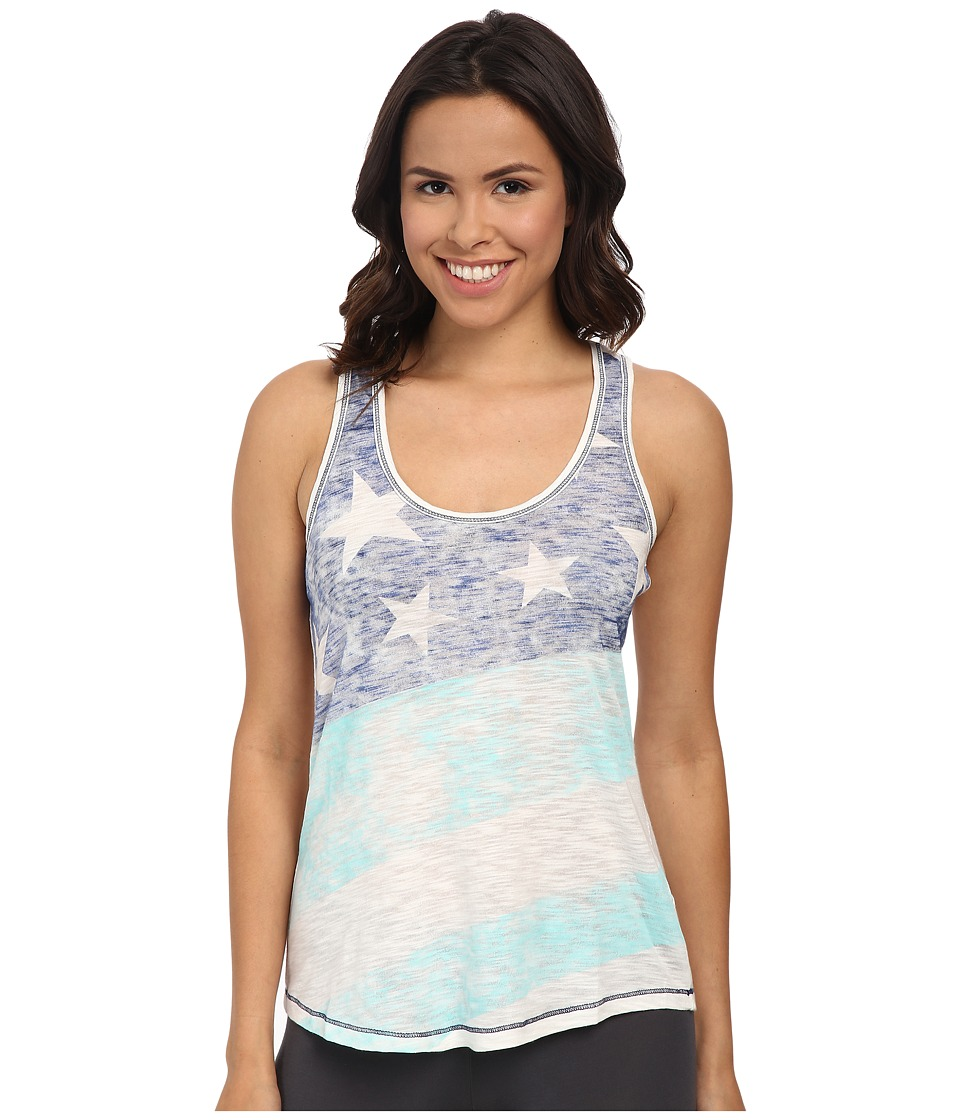 P.J. Salvage - Team USA Stars/Stripes Racer Sleep Tank (Ivory) Women