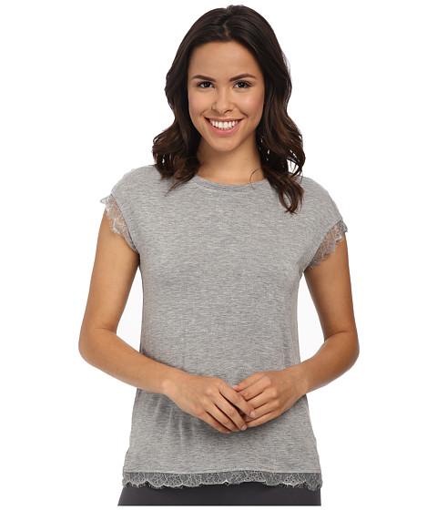 P.J. Salvage - Luxe Lounge Top (Heather Grey) Women's Pajama