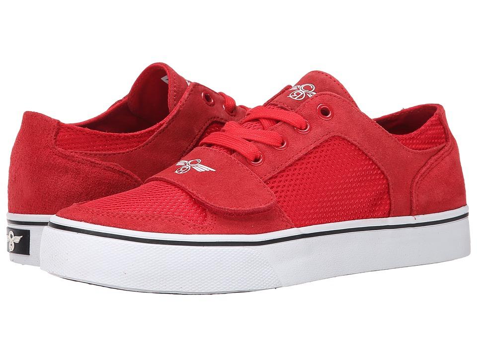 Creative Recreation - Cesario Lo XVI (Red/White/Mesh) Men's Shoes