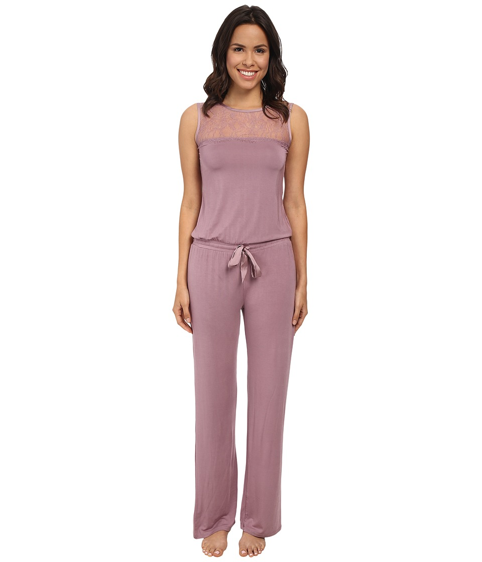 P.J. Salvage - Luxe Lounge Romper (Mauve) Women's Jumpsuit & Rompers One Piece