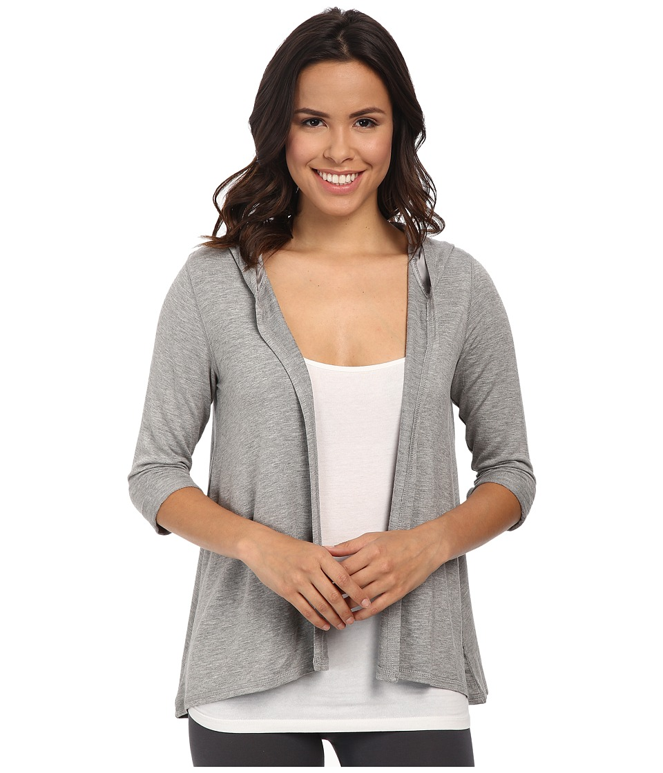 P.J. Salvage - Luxe Lounge Jacket (Heather Grey) Women's Pajama