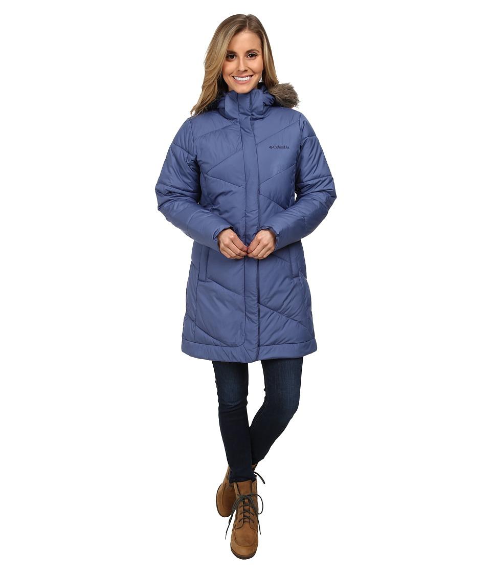 Columbia - Snow Eclipse Mid Jacket (Bluebell) Women's Coat