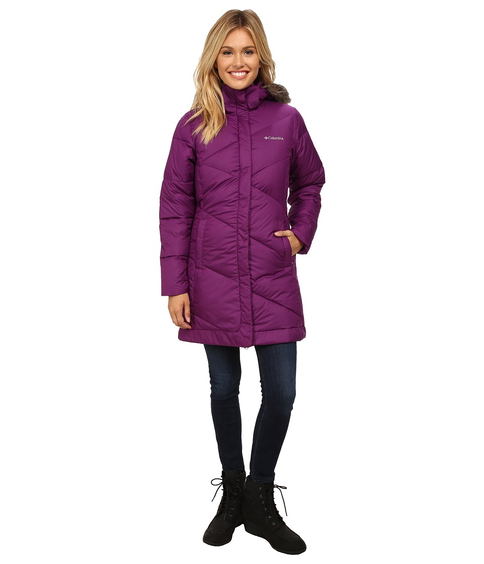 Columbia - Snow Eclipse Mid Jacket (Plum) Women's Coat