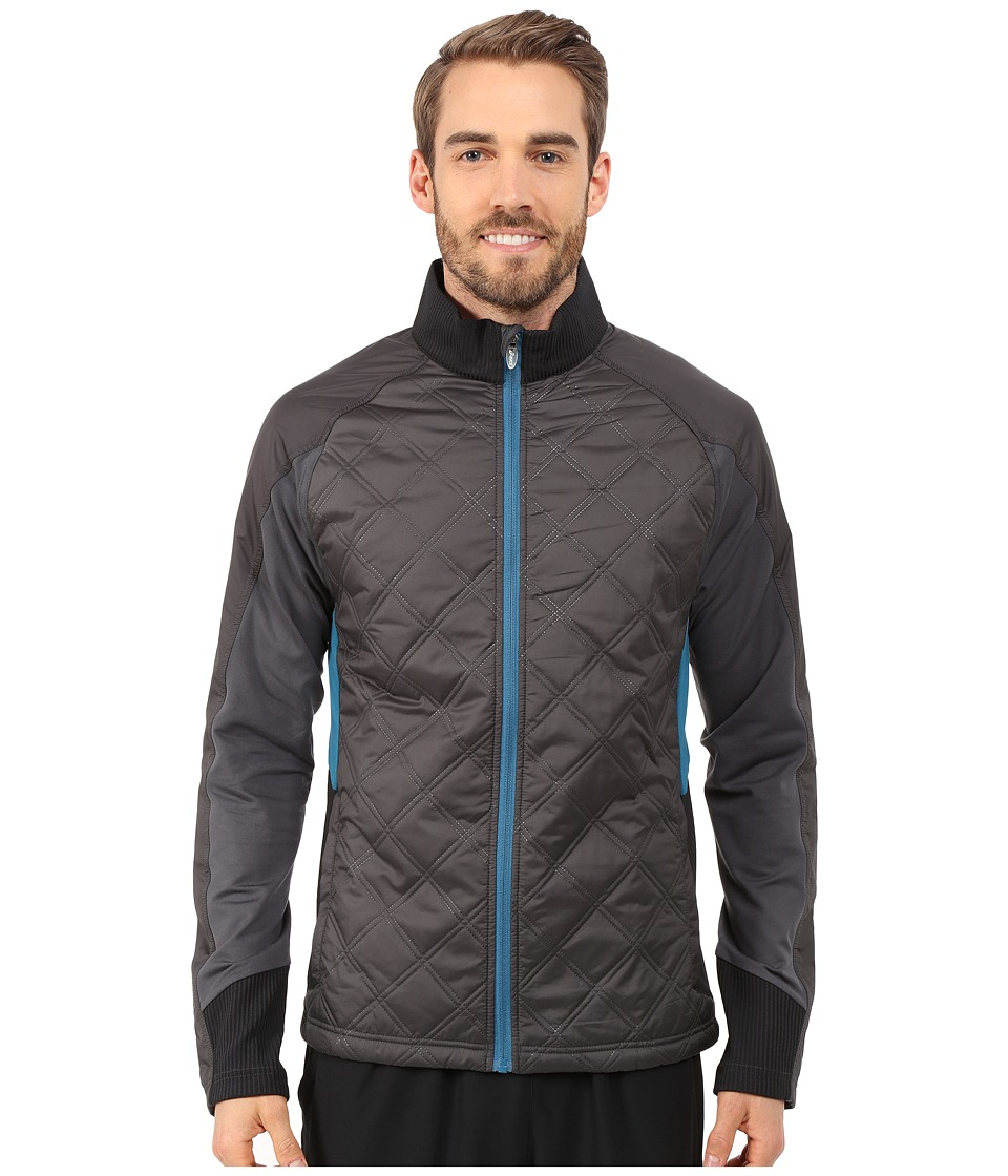 ASICS - Thermo Windblocker (Dark Grey/Performance Black) Men's Coat