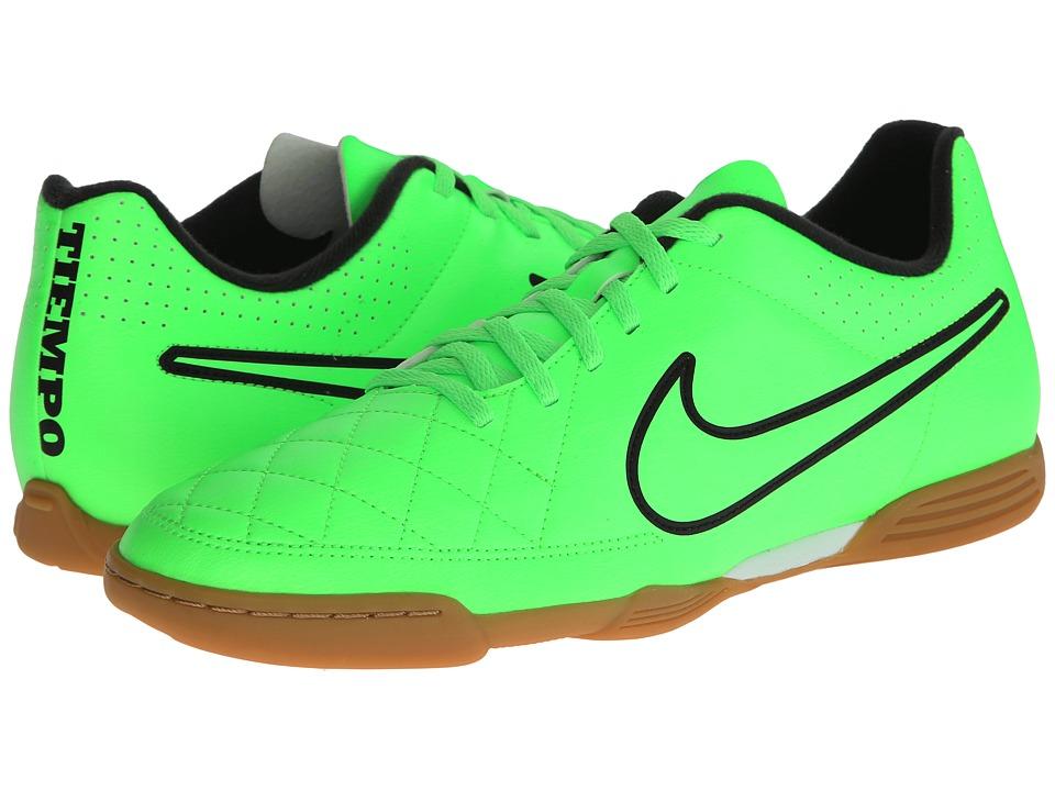Nike - Tiempo Rio II IC (Green Strike/Black/Green Strike) Men's Soccer Shoes