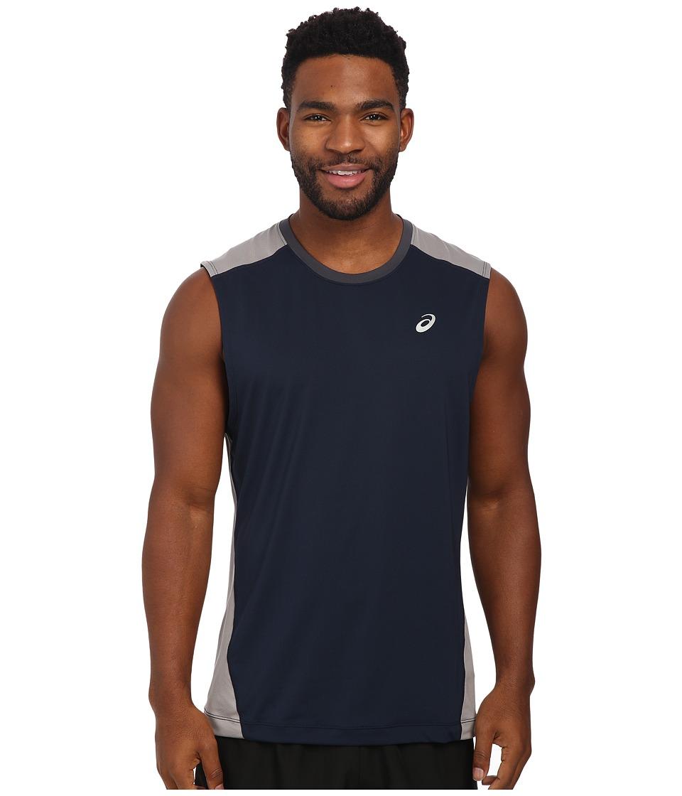 ASICS - PR Lyte Sleeveless (Dark Cobalt/Frost) Men's Workout