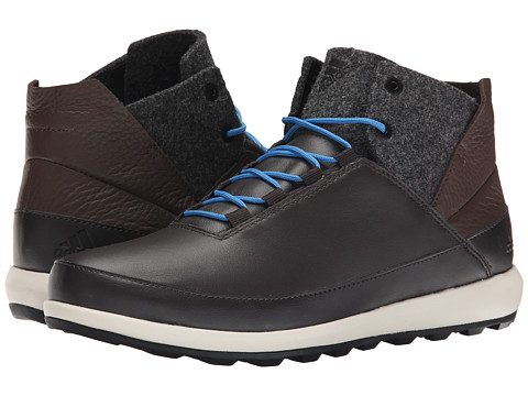 adidas Outdoor - Zappan II Winter Mid (Night Brown/Black/Super Blue) Men's Shoes